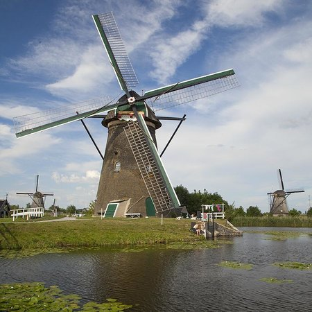 Mühlenanlagen in Kinderdijk-Elshout: Beautiful History!