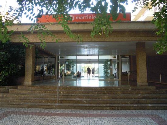 HM Martinique: Hotellentren