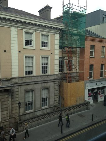 Dublin Central Inn: View from the room, 205