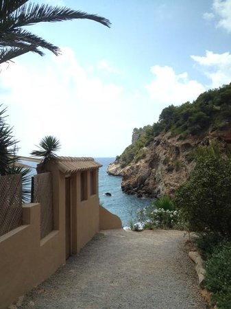 Amante Ibiza: Entrance to Amante