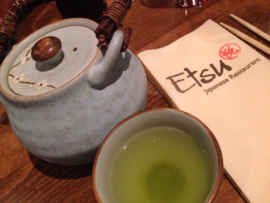 Etsu Japanese Restaurant : Beautiful tea pot