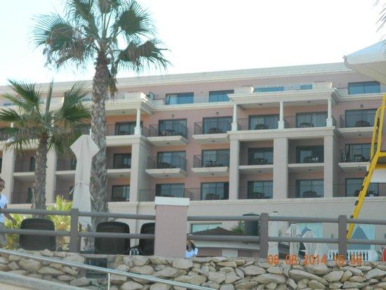 The Westin Dragonara Resort, Malta: a view from the pool area