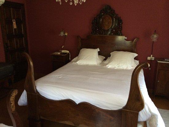 Hotel El Moli : El dormitorio