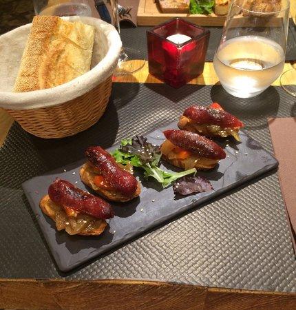 La Rossettisserie : Italian sausage starter. Stunning!