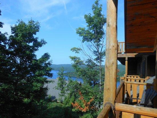 Hotel Sacacomie : vue de la chambre