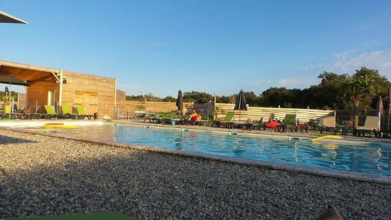 Lodges en Provence: Piscine