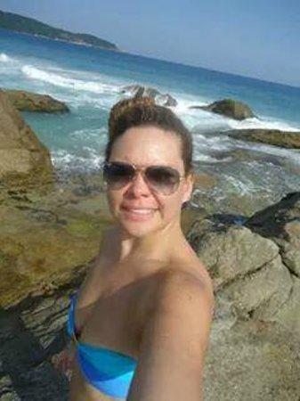 Lopes Mendes Beach: Parte rochosa da Praia de Lopes Mendes