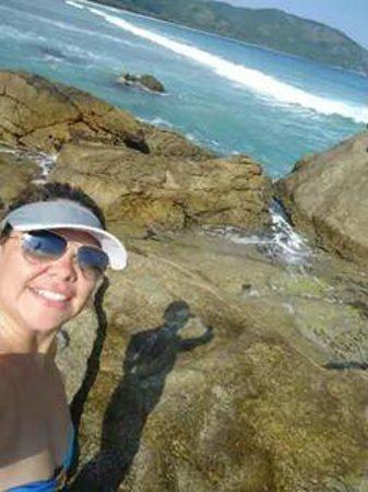 Lopes Mendes Beach: Parte rochosa Lopes Mendes