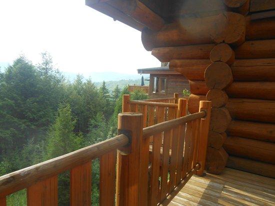 Hotel Sacacomie : vue de la chambre 3