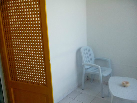 Club Marmara Hammamet Beach : un petit balcon