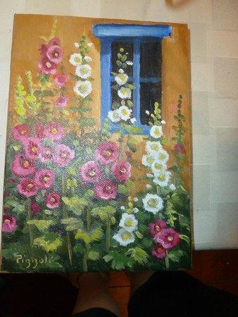 La Fonda on the Plaza: Mary Beth Painting from La Fonda gift shop
