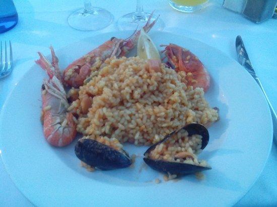 S'Amarador (samarador): Paella de marisco