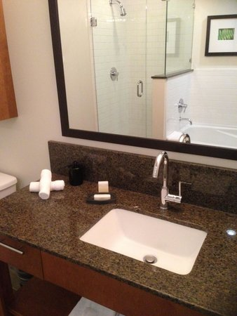 The Oswego Hotel: bathroom