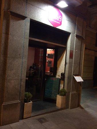 Casa 9 Restaurante : Entrada
