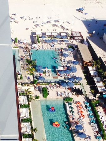 Secrets The Vine Cancun: View from the 26th floor!