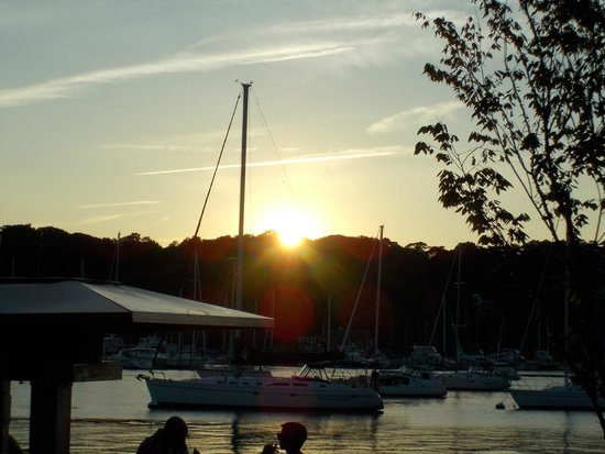 Prime Restaurant: couldn't have found a more gorgeous sunset to watch; as we dined on the finest cuisine!!!!!