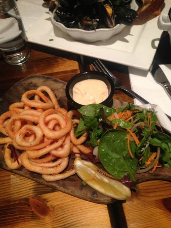 The Quay Street Kitchen: Lightly battered calamari
