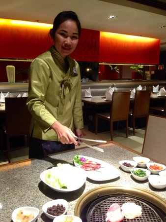 Pathumwan Princess Hotel : Yummy Korean bbq