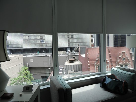 Kinzie Hotel: Huge windows