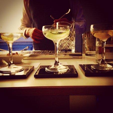Royal Academy of Arts: triple martini