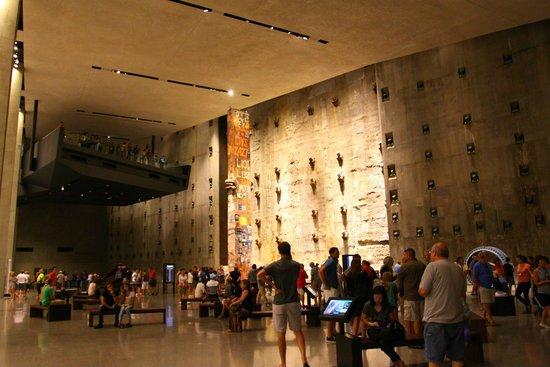 Mémorial du 11-Septembre : Memorial hall