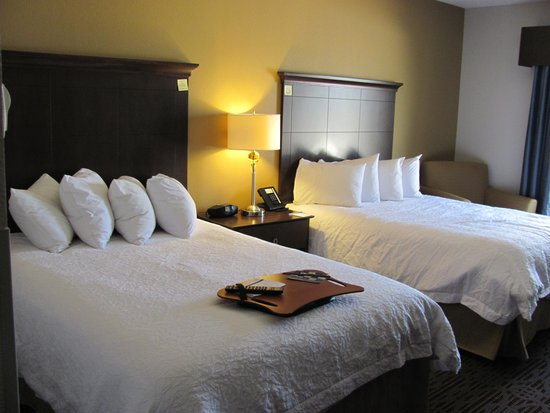 Hampton Inn West Monroe : 2 Double Beds Room