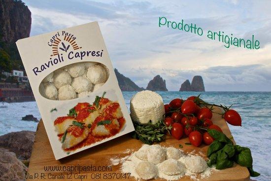 Capri Pasta : Ravioli Capresi, box da viaggio