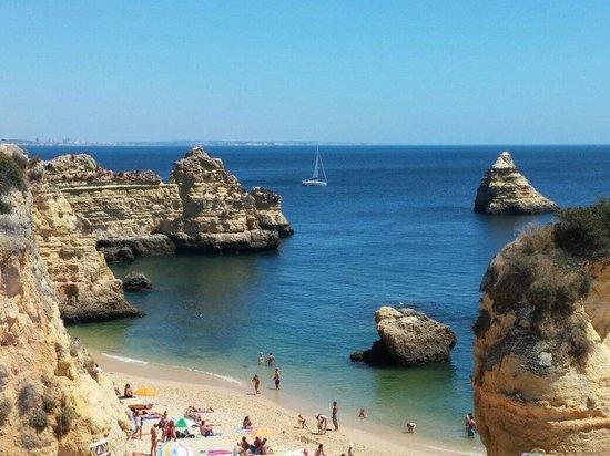 Praia Dona Ana: La spiaggia
