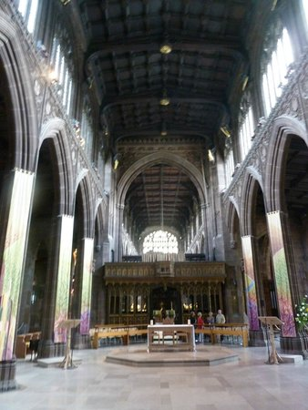 Manchester Cathedral: Church Interior