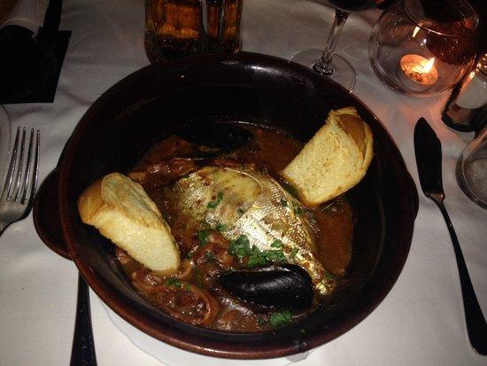 Balbi: Zuppa di pesce