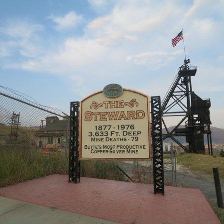 Butte Trolley Tour: The Steward Mine - Butte's most productive mine