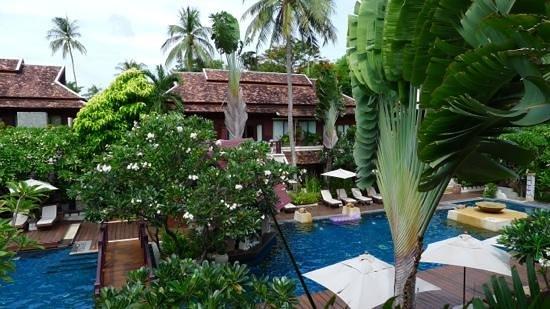 Chaweng Regent Beach Resort : vue de notre chambre