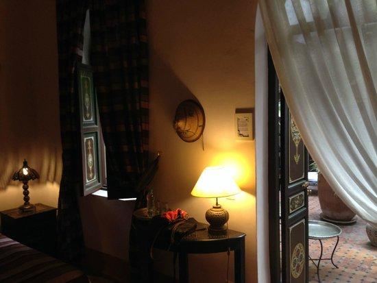 Riad Bamaga Hotel: Camera da letto
