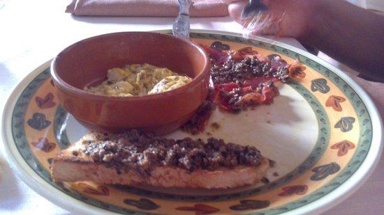 Taverna del Torchio: Antipasto tartufato