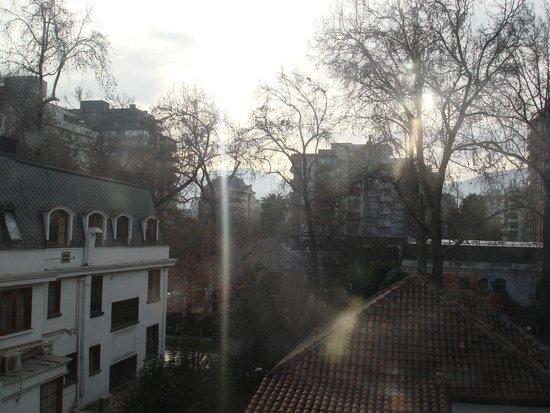 Hotel Bonaparte : Vista do quarto