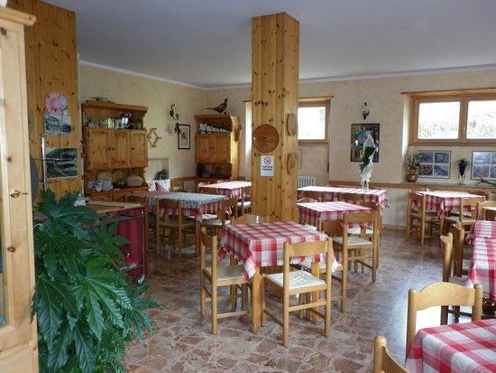 Hotel Zebru': ROSTORAZIONE