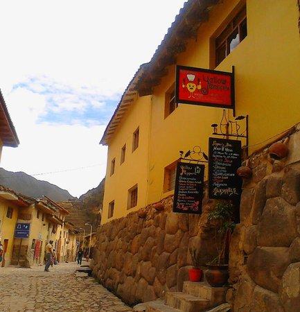 Yellow Pepper Bar and Restaurant: Restaurant Yellow Peppers Ollantaytambo