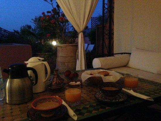 Riad Bamaga Hotel : Terrazzo