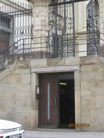 St Cyril and St Methodius Cathedral: entrance to the museum