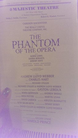 The Phantom of the Opera: Cast