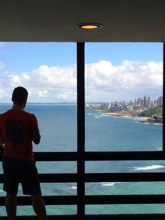 Pestana Bahia Lodge: Vista do 22o andar