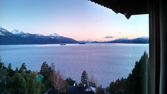 Apart Hotel Cabanas Balcon al Lago: Vista desde la habitación