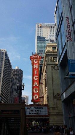 The Chicago Theatre: :-)