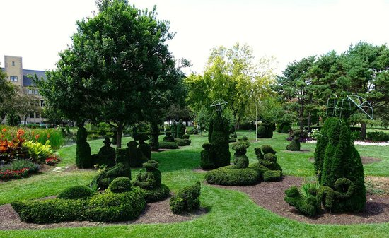 Topiary Park Columbus Oh Picture Of Topiary Garden