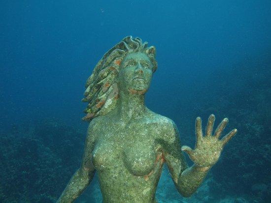 Sunset House: Iconic mermaid