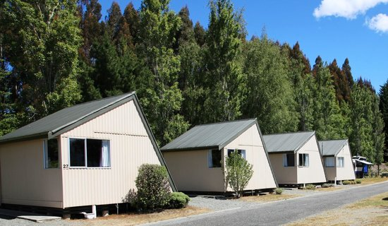 Te Anau Lakeview Holiday Park : Kitchen Cabins
