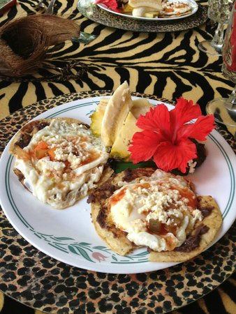 Belize Boutique Resort & Spa : Huevos Rancheros