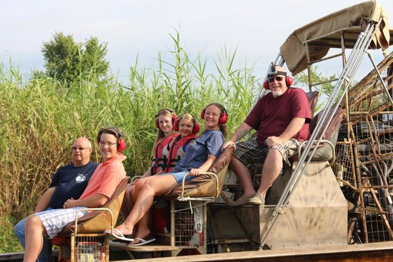Airboat Tours: Our entire family loved the experience!