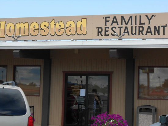 Homestead Family Restaurant Good Local In Blackfoot Idaho