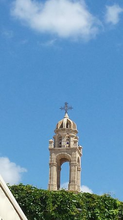 Lindos: church